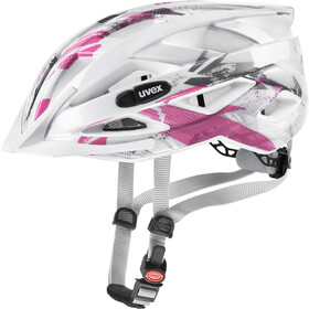UVEX Air Wing Helmet Kinder white pink